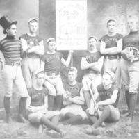 Class of 1892 baseball team